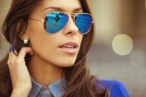 Женские-солнцезащитные-очки-модели-«Авиатор»
