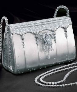 Ginza Tanaka Platinum Handbag