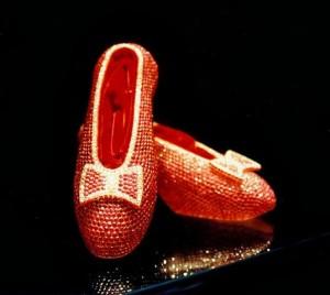 туфельки из рубина